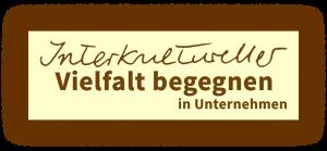 Logo Interkultureller Vielfalt begegnen in Unternehmen