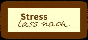 Logo Stress lass nach