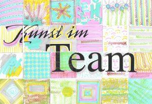 Collage Kunst im Team